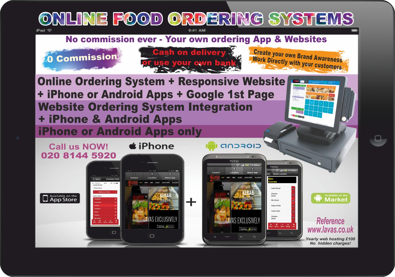 Takeaway ordering system,Pizza,Kebab,Shop,supermarket,Online
